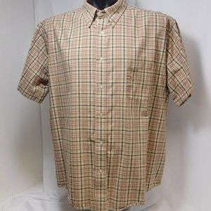 St. John's Bay Worry Free Long Sleeve Plaid Shirt
